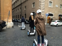 Taking Off From Piazza Mattei In The Jewish Quarter