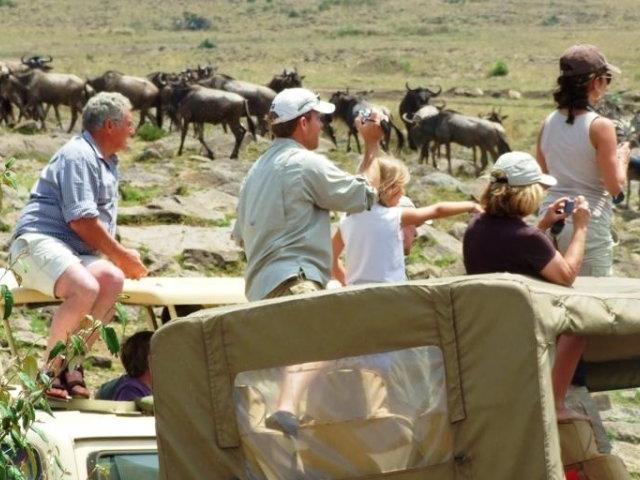 Masai Mara Camping Joining Safaris Photos