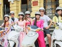 Free Motorbike Tour Around Hanoi With Beautiful & Graceful Girls
