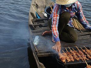 Floating Village & Banteay Srei Temple Tour Photos