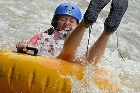 Whitewater Tubing Photos