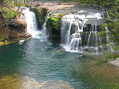 Lower Falls Of The Lewis River