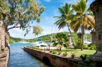 Antigua Shore Excursion: Round Island Tour Photos