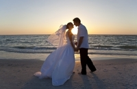 Civil Wedding Ceremony on a Miami Beach Photos
