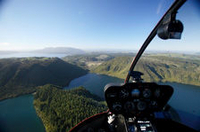 Crater Lake Views Helicopter Flight from Rotorua Photos