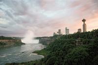 Evening Walking Tour of Niagara Falls US Side Photos
