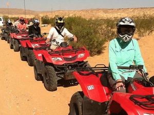 ATV Off-Road Desert Adventure Photos