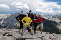 Guided Half Dome Hike Photos