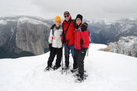 Guided Snowshoe Hike in Yosemite Photos