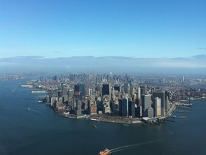 New York Helicopter Flight: Grand Island Photos