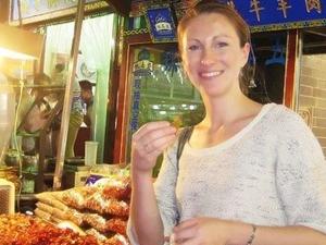 Xi'an Gourmet Walking Tour at Night Photos