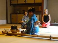Japanese Tea Ceremony with a Tea Master Photos