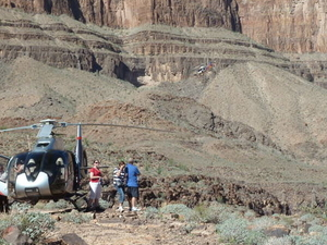 Viator Exclusive: Grand Canyon Helicopter Tour with Optional Below-the-Rim Landing and Skywalk Upgrade Photos