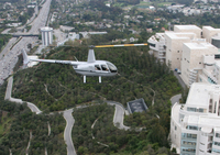 Los Angeles Celebrity Homes Helicopter Flight Photos
