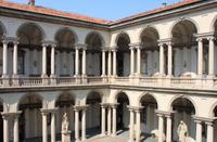Milan Brera Museum Walking Tour Photos