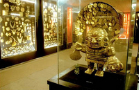 Mujica Gallo's Private Gold Collection and Weapons of the World Museum Photos
