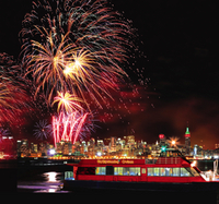 New Year's Eve Fireworks Cruise in New York City Photos