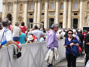 Papal Audience Ticket at Vatican City Photos