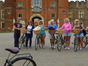 Hampton Court Palace Bike Tour from London Photos