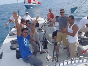 St. Maarten 12 Metre Challenge Photos