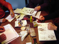 Paris Through Paint: Create a Watercolor of the Eiffel Tower Photos