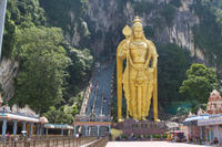 Private Tour: Batu Caves and Temple Afternoon Tour from Kuala Lumpur Photos