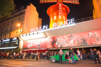 Private Tour: Vintage 2CV Round-Trip Transfer to the Moulin Rouge Photos