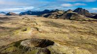 Reykjavik Helicopter Flight: Reykjanes Peninsula and Volcanic Landscapes Photos