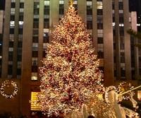 Rockefeller Center Christmas Tree-Lighting Party  Photos