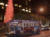 San Francisco Holiday Lights Tour by Cable Car Photos