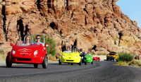 Scooter Car Tour of Red Rock Canyon with Transport from Las Vegas Photos