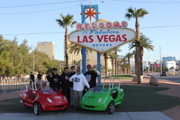 Scooter Car Tour of Downtown Las Vegas and the Strip Photos