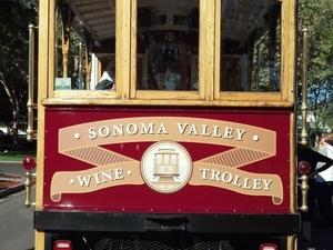 Sonoma Valley Wine Trolley Photos