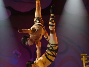 Beijing Acrobat Show with Transfer Photos