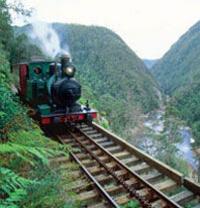 Tasmania West Coast Wilderness Railway Tour Photos