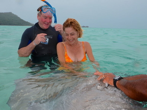 Bora Bora Snorkel, Shark and Ray Feeding Excursion Photos