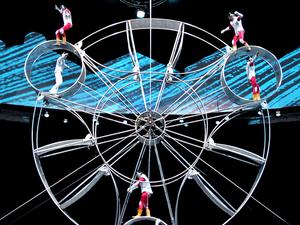 Shanghai Circus World: ERA Intersection of Time Acrobatics Show Photos