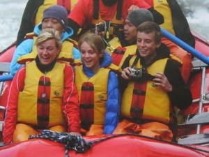 Juneau Shore Excursion: Mendenhall Glacier Rafting Tour Photos