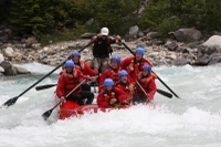 Whitewater Rafting on Kicking Horse River Photos