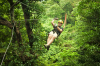 Zipline and Horseback Riding Combination Tour in Puerto Plata Photos